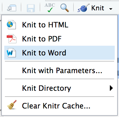 Knit to Word